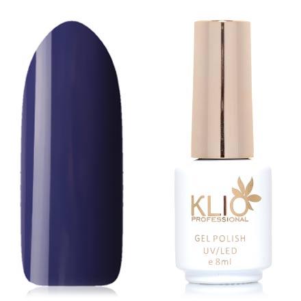 Klio Professional, Гель-лак Total Perfection, №56Klio Professional<br>Гель-лак (8 мл) темно-фиолетовый, без перламутра и блесток, плотный.