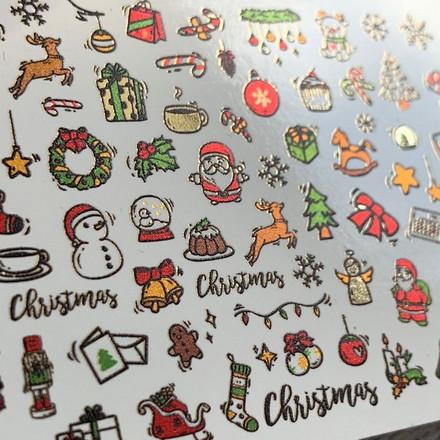 Купить AnnaTkacheva, СлайдерNYFoil№144 «Новый год. Рождество», Anna Tkacheva