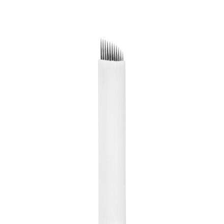 IRISK, Игла одноразовая для татуажа S11, D=0,25 ммПерманентный татуаж бровей<br>Используется для проработки волосков в технике мануального микропигментирования бровей.