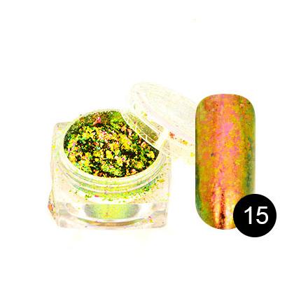 Купить TNL, Хлопья Юки №15, циркониевый гиацинт, TNL Professional