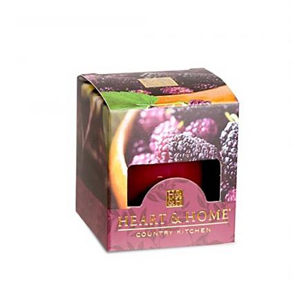 Heart&amp;Home, Мини-свеча «Шелковица», 58 гАроматические свечи<br>Сочная шелковица, созревшая под южным солнцем, сладкие нотки малины, клубники и яблока — аппетитный ягодный аромат, гармонично дополненный теплой сливочной ванилью.<br>
