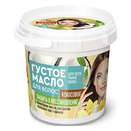 Купить Fito, Густое масло для волос Organic «Кокосовое», 155 мл