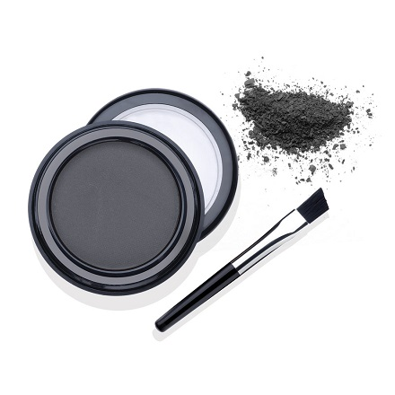 Ardell, Пудра оттеняющая для бровей светло-черная, 2,2 г