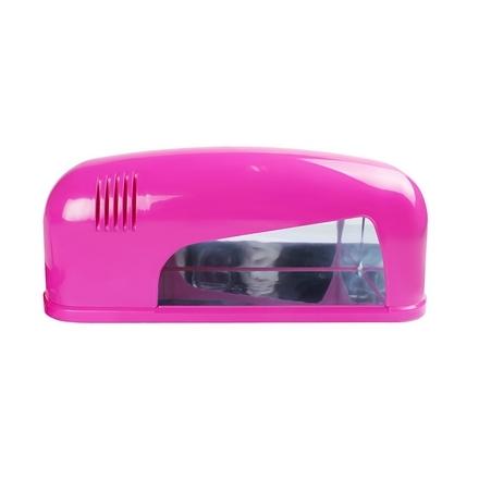 JessNail, УФ-Лампа розовая JN-TR-082, 9 Вт
