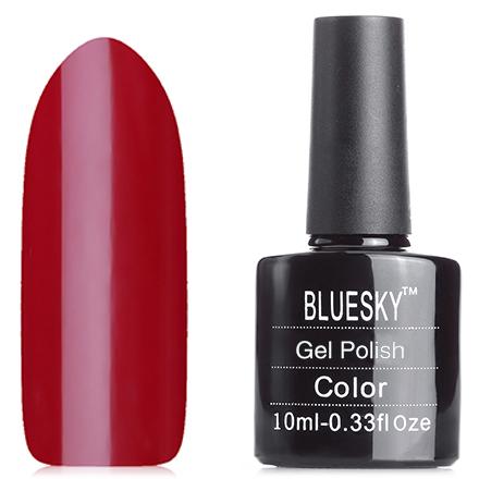 Bluesky, Гель-лак №80575 Scarlett LetterBluesky Шеллак<br>Гель-лак (10 мл) бордово-вишневый, без блесток и перламутра, плотный.<br><br>Цвет: Красный<br>Объем мл: 10.00