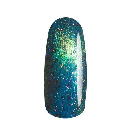 Masura, Лак для ногтей №904-247M, Лотосы, 3,5 млМагнитные лаки Masura<br>Магнитный лак (3,5 мл) зеленый с бирюзовым подтоном, с голографическим и золотым микрошиммером, со слюдой, плотный.
