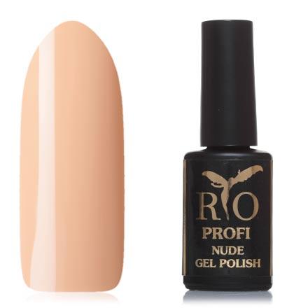 Rio Profi, Гель-лак Nude №10, Знойный ветерRio Profi<br>Каучуковый гель-лак (7 мл) песочный, без перламутра и блесток, плотный.