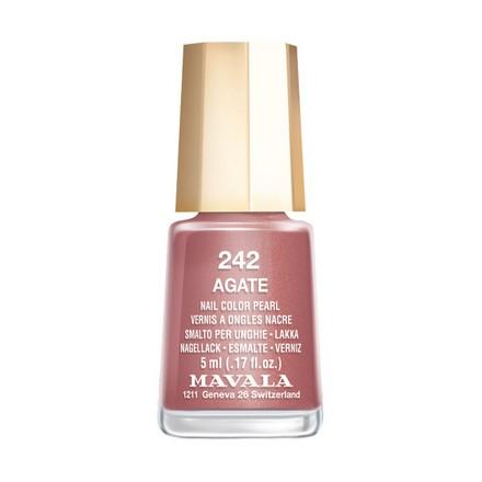 Купить Mavala, Лак для ногтей №242, Agate, Коричневый