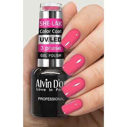 Купить Alvin D'or, Гель-лак №3536, Розовый