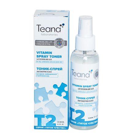 Teana, Тоник для лица T2, 125 мл