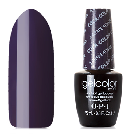 OPI GelColor, Гель-лак A Grape Affair odeon light потолочный светильник odeon light solario 3560 18l