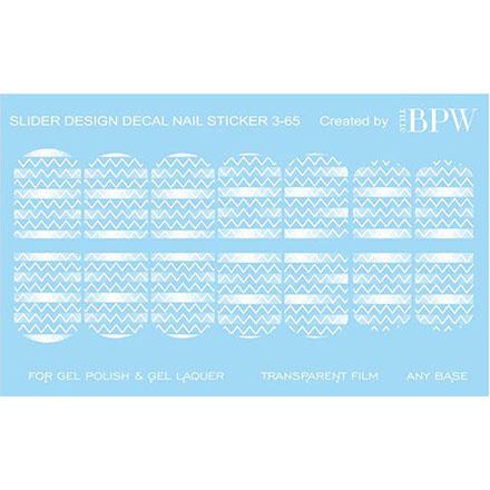 BPW.Style, Слайдер-дизайн «Белая геометрия» №3-65, градиент