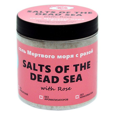 Фото - Meela Meelo, Соль Мертвого моря, с розой, 500 мл meela meelo соль мертвого моря с лавандой и геранью 500 мл
