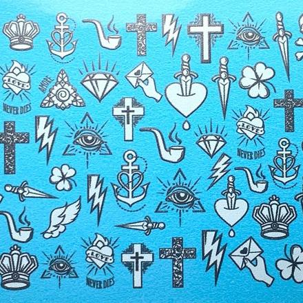 Anna Tkacheva, Слайдер NY №79 «Хэллоуин. Кресты» фото