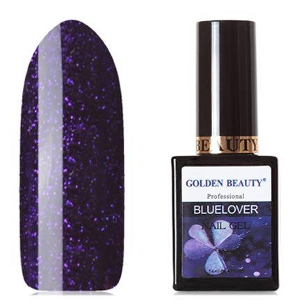 Bluesky, Гель-лак Golden Beauty Bluelover №08 bluesky гель лак golden beauty 66
