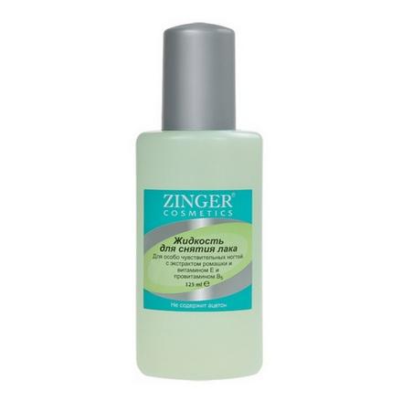 Zinger, Жидкость для снятия лака, с экстрактом ромашки, 75 мл