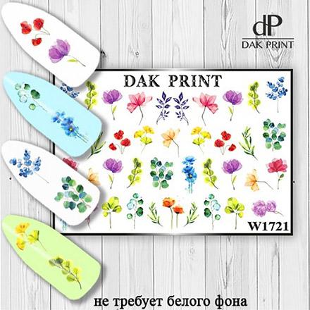 Купить Dak Print, Слайдер-дизайн №1721