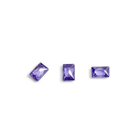 Купить TNL, Кристаллы «Багет» №1, сиреневые, 10 шт., TNL Professional