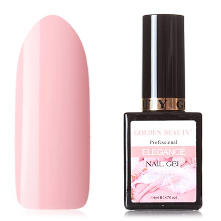 Bluesky, Гель-лак Golden Beauty Elegance №04Bluesky Шеллак<br>Гель-лак (14 мл) приглушенный розовый, без перламутра и блесток, плотный.<br><br>Цвет: Розовый<br>Объем мл: 14.00