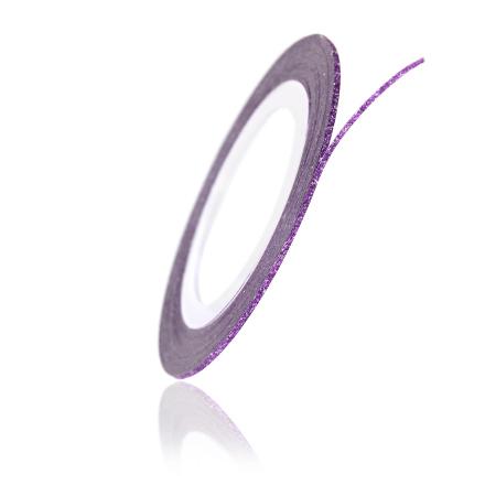 TNL, Нить на клеевой основе перламутровая, фиолетовая