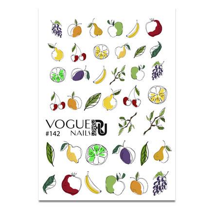 Vogue Nails, Слайдер-дизайн №142 фото