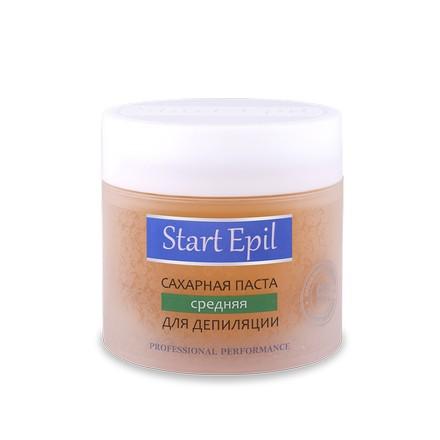 Start Epil, Сахарная паста для депиляции Средняя, 400 г (ARAVIA PROFESSIONAL)