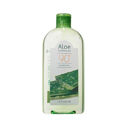 It's Skin, Гель освежающий с алоэ, Aloe 90% Soothing Gel, 320 мл -  Кремы и масла