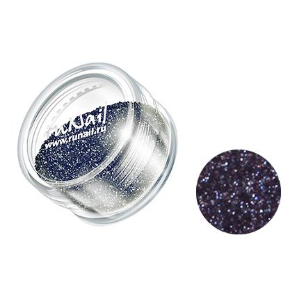 Купить RuNail, дизайн для ногтей: блестки 0647 (темно-серый)