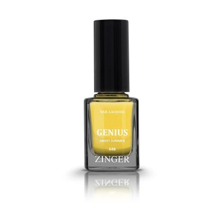 Zinger, Лак для ногтей Genius, цвет Sweet summer