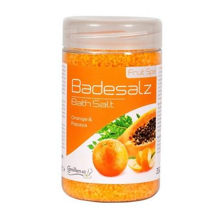 Camillen 60, Соль восстанавливающая, Badesalz OrangePapaya,  350 г