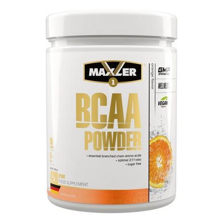 Maxler, Комплекс аминокислот BCAA Powder, апельсин, 420 г
