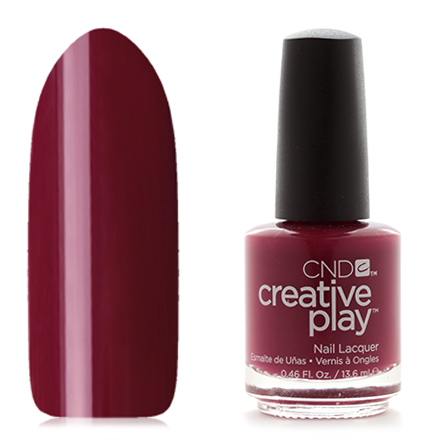 CND Creative Play, цвет Currantly Single, 13,6 мл cnd лосьон creative scentsations wildflower
