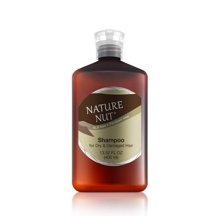 Купить Nature Nut, Шампунь для сухих и поврежденных волос, 400 мл