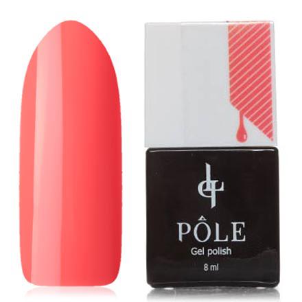 POLE, Гель-лак №434, Бодрая морковьPOLE<br>Гель-лак (8 мл) ярко-оранжевый, без перламутра и блесток, плотный.<br><br>Цвет: Оранжевый<br>Объем мл: 8.00