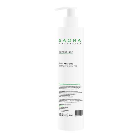 Купить Saona Cosmetics, Гель для глубокого очищения с экстрактом зеленого чая, 200 мл