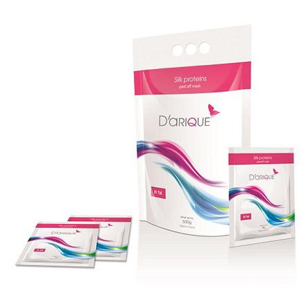 Depilflax DARIQUE, Маска Bio satin с шелковыми протеинами 40гр