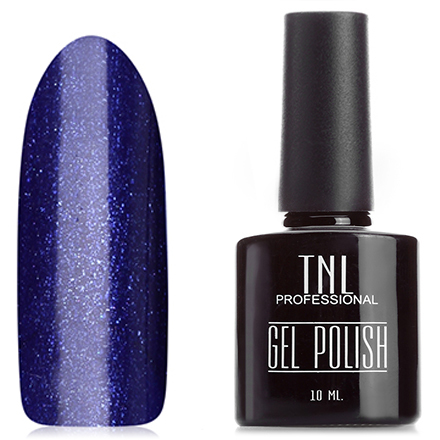 TNL, Гель-лак №54, Синий шелкTNL трехфазный шеллак<br>Гель-лак (10 мл) сине-фиолетовый, с ярко-синими блестками, плотный.<br><br>Цвет: Фиолетовый<br>Объем мл: 10.00
