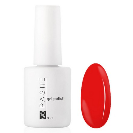 Купить PASHE, Гель-лак №177, «Чили», Красный