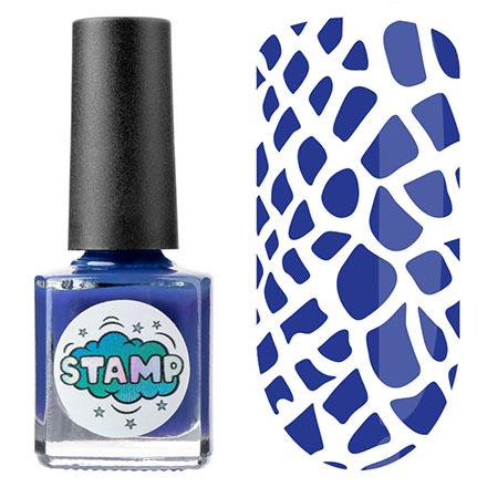 Купить IRISK, Лак-краска для стемпинга Classic №005, Синий