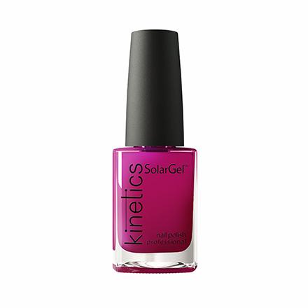 Купить Kinetics, Лак для ногтей SolarGel № 418, Mirror - Like Red, Розовый