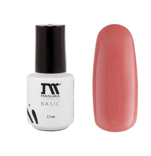 Гель лак Masura Basic, цвет № 290-58М Розовый эликсир