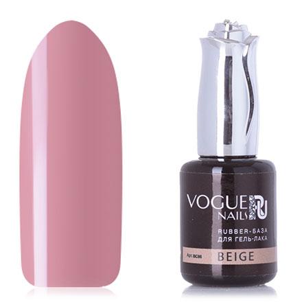 Vogue Nails, База для гель-лака Rubber, beige, 18 мл фото