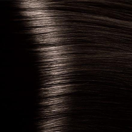 Kapous, Крем-краска для волос Hyaluronic 4.0, коричневый, 100 мл kapous лак аэрозольный для волос нормальной фиксации kapous styling lacca normal 100 мл