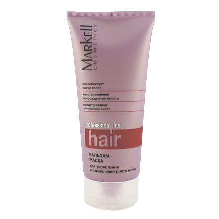 Markell, Бальзам-маска для укрепления и стимуляции роста волос Professional, 200 мл