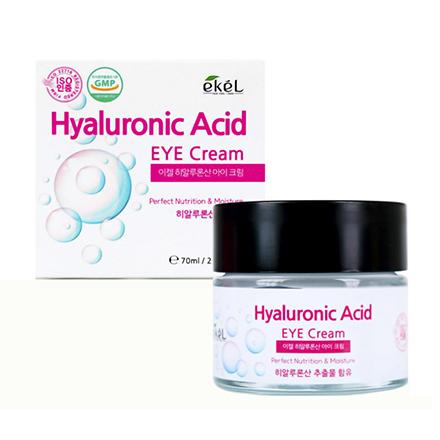 Купить EKEL, Крем для кожи вокруг глаз Hyaluronic Acid, 70 мл
