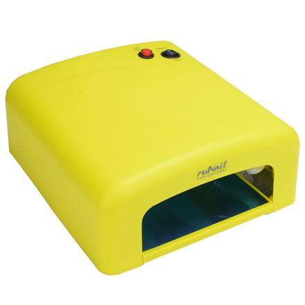 RuNail, Лампа UV, модель GL-515, 36W, желтая (электронная) фото