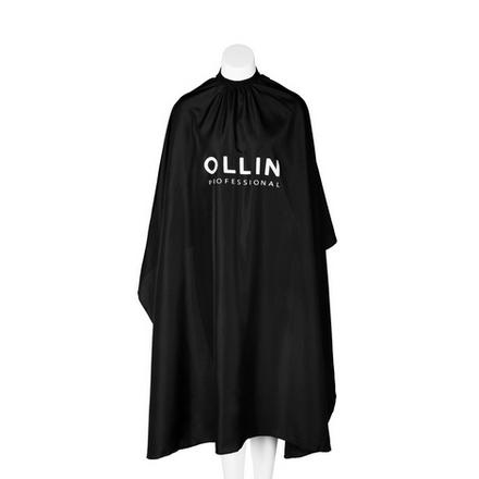 OLLIN, Пеньюар без пропитки, черный, 145х160 см, Ollin Professional  - Купить