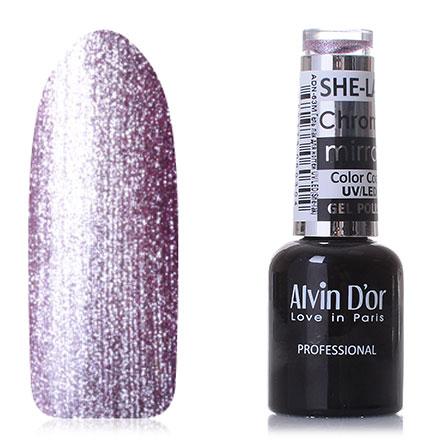 Купить Alvin D'or, Гель-лак Chrome Mirror №6319, Фиолетовый
