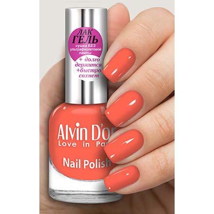 Купить Alvin D'or, Лак-гель №16137, Оранжевый
