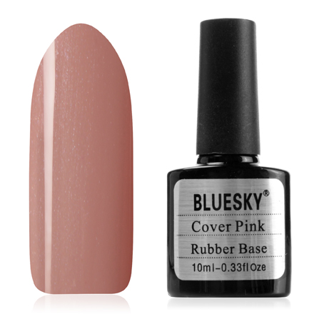 Bluesky, Камуфлирующая каучуковая база Rubber Base Cover Pink,  №13